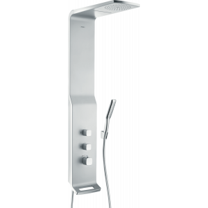 Душевая панель hansgrohe Raindance Lift 180 2jet с термостатом 27008000, матовый хром/хром