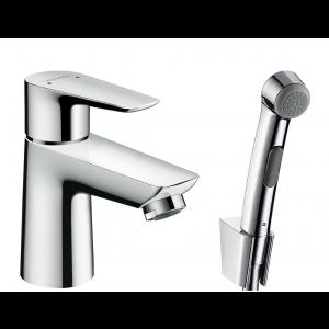 Набор для биде hansgrohe Talis со сливным клапаном Push-Open, хром 71729000