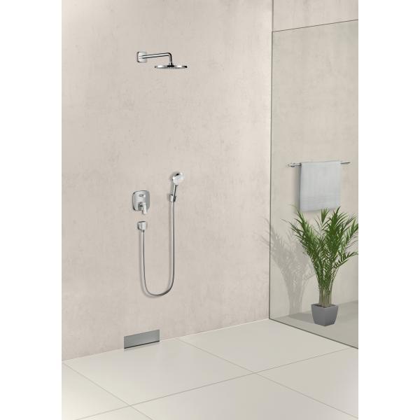 Ручной душ hansgrohe Crometta 1jet 26331400, белый/хром