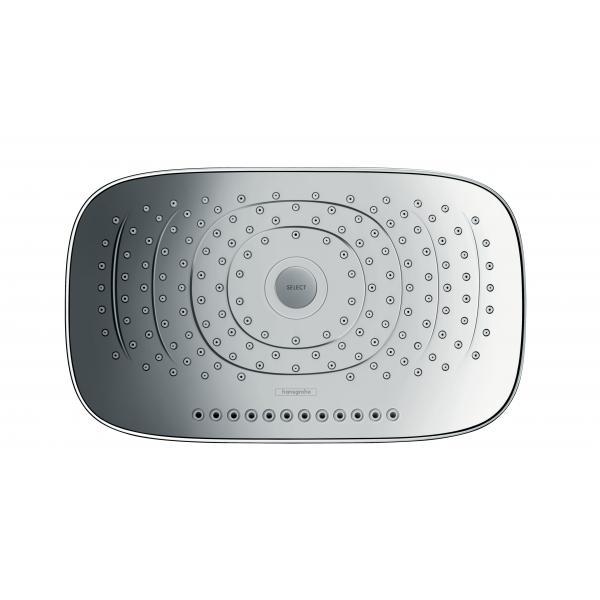 Верхний душ hansgrohe Raindance Select E 300 3jet, хром 26468000