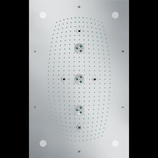 Верхний душ hansgrohe Raindance Rainmaker 680 с подсветкой, хром 28418000