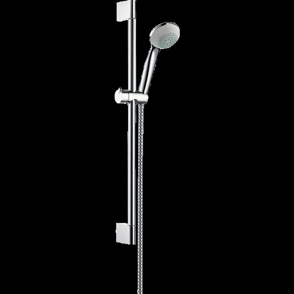 Душевой набор hansgrohe Crometta 1jet/Unica Crometta 27728000, хром