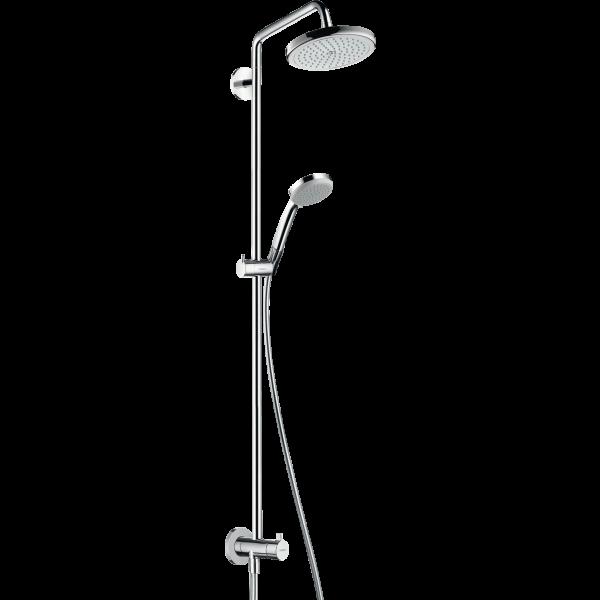 Душевая система hansgrohe Croma 220 Showerpipe Reno 27224000, хром