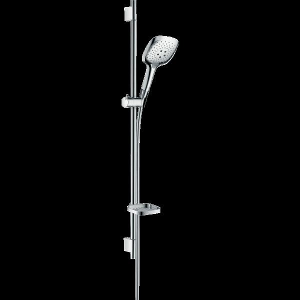 Душевой набор hansgrohe Raindance Select E 150 3jet/Unica S Puro 90 27857000, хром