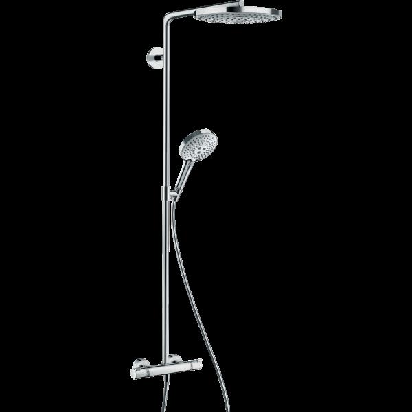 Душевая система hansgrohe Raindance Select S 240 2jet Showerpipe с термостатом 27129400