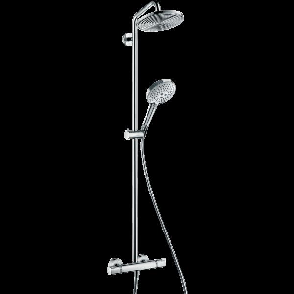 Душевая система hansgrohe Raindance Select S 240 Showerpipe с термостатом 27115000, хром