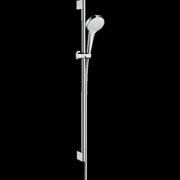 Душевой набор hansgrohe Croma Select S Vario 26572400, белый/хром
