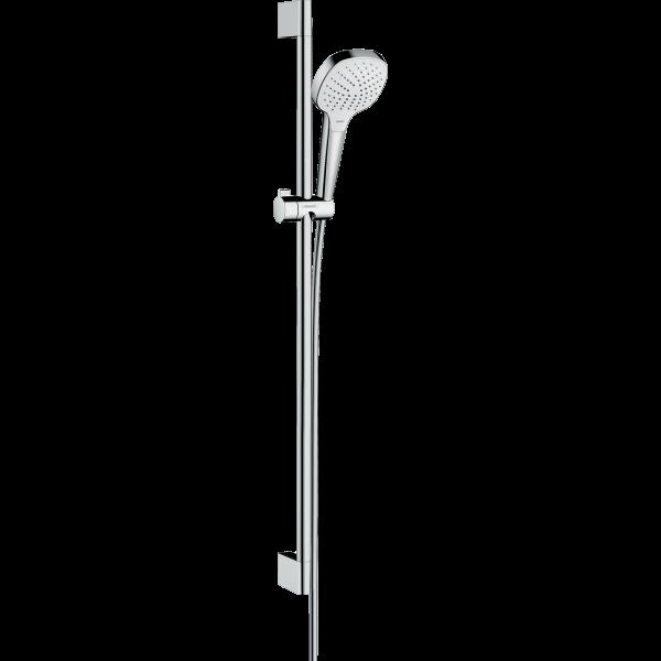 Душевой набор hansgrohe Croma Select E Vario 26592400, белый/хром