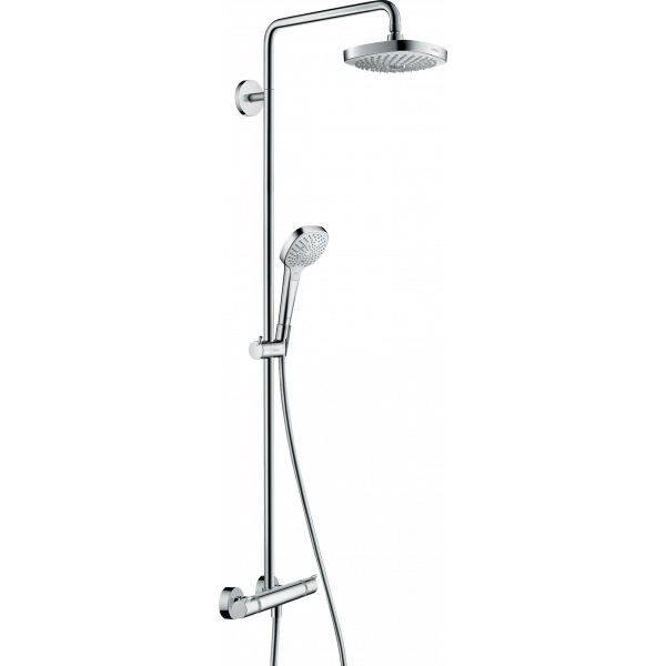 Душевая система hansgrohe Croma Select E 180 с термостатом 27256400