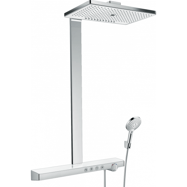 Душевая система hansgrohe Rainmaker Select 460 3jet Showerpipe с термостатом 27106400