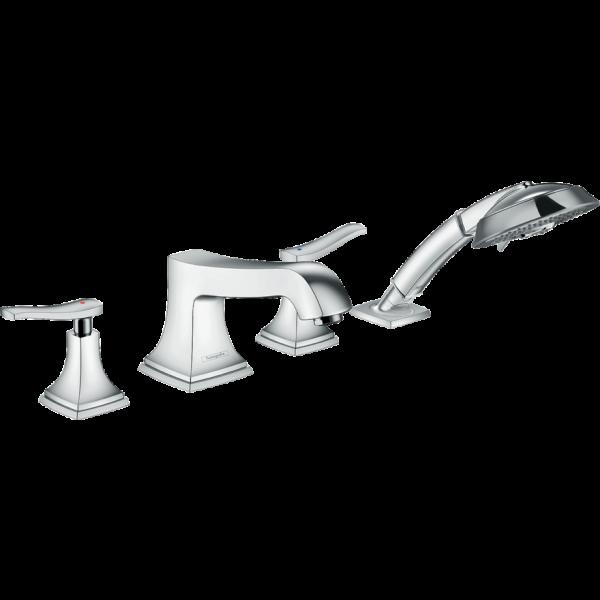 Смеситель hansgrohe Metropol Classic на борт ванны 31441000, хром