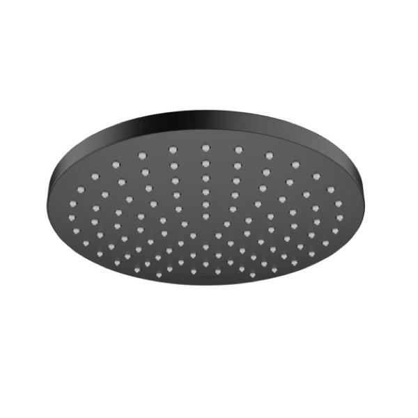 Верхний душ 200 1jet EcoSmart Hansgrohe Vernis Blend 26277670, матовый черный