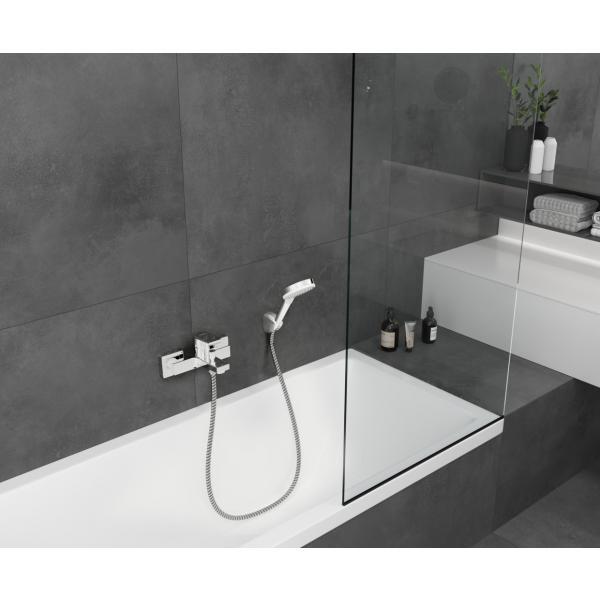 Смеситель для ванны однорычажный Hansgrohe Vernis Shape 71450000, хром