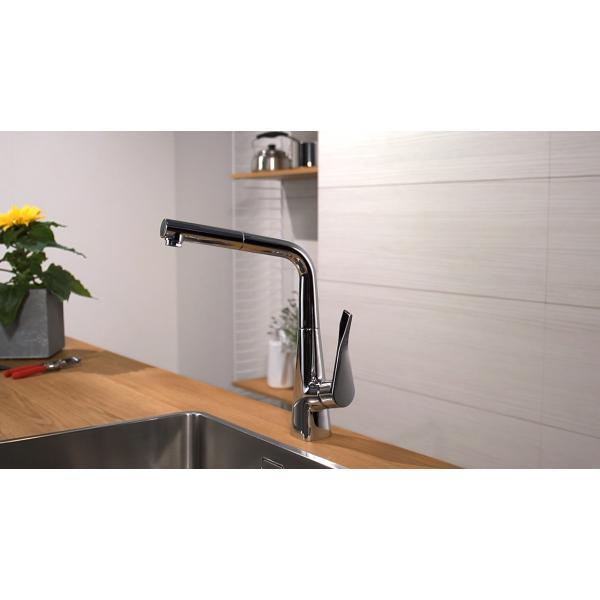 Смеситель hansgrohe Metris для кухонной мойки 14821000