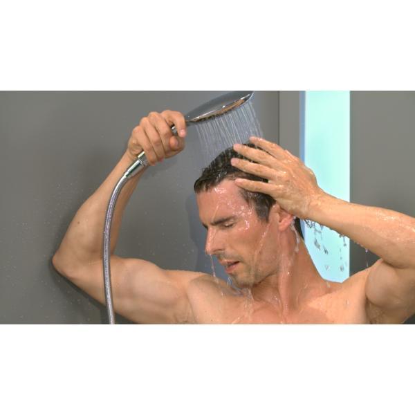 Ручной душ hansgrohe Raindance Select E150 3jet 26550400, белый/хром