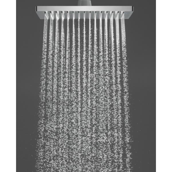 Верхний душ hansgrohe Crometta E 240 1jet EcoSmart 26727000, хром