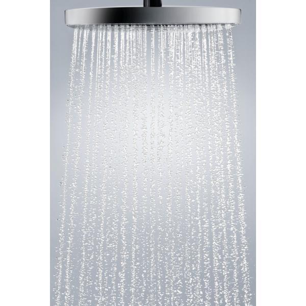 Верхний душ hansgrohe Raindance Select E 300 2jet, белый/хром 27385400