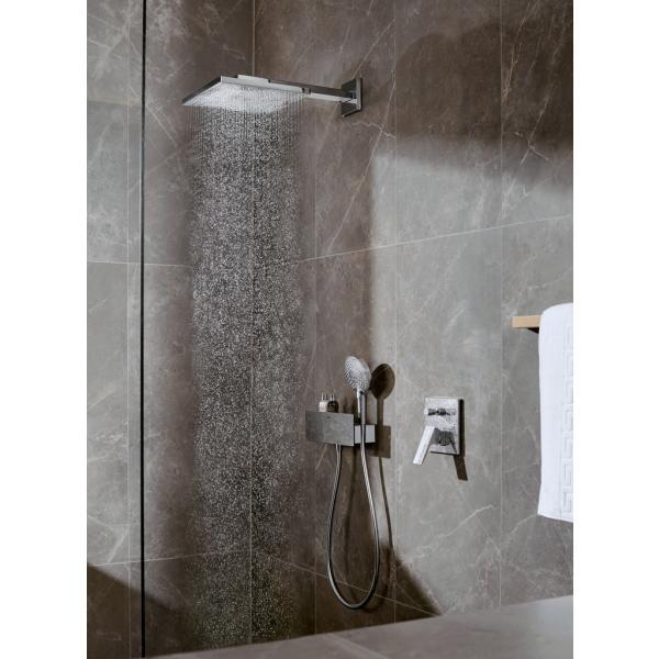 Смеситель hansgrohe Metropol для ванны настенный скрытый с рычаговой рукояткой, хром 32545000