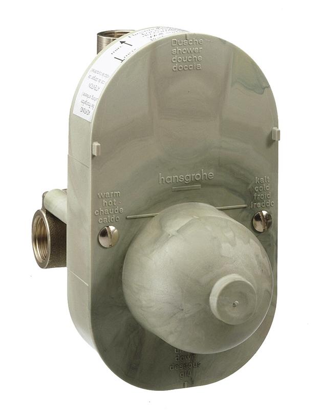 Скрытая часть hansgrohe однорычажного смесителя для ванны 31741180